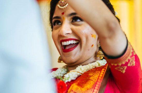 Creative Candid Wedding Photographer in Bangalore